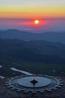 Er Photograph - Sunrise From 14,000' by Ben Ford