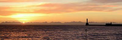 Photograph - Sunrise From Aberdeen Beach - Pano by Veli Bariskan