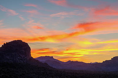 Photograph - Sunrise From Hieroglyphic Trail by Greg Nyquist
