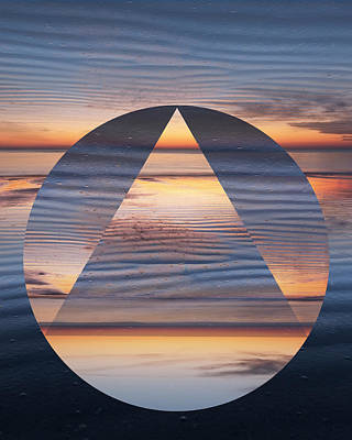 Photograph - Sunrise Geometric by Debra and Dave Vanderlaan