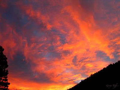 Photograph - Sunrise by George Tuffy