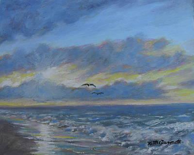 Painting - Sunrise Glow by Kathleen McDermott
