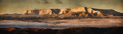 Photograph - Sunrise Glow Pano Pnt by Theo O'Connor