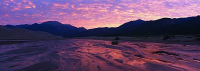 Sunrise Great Sand Dunes National Art Print
