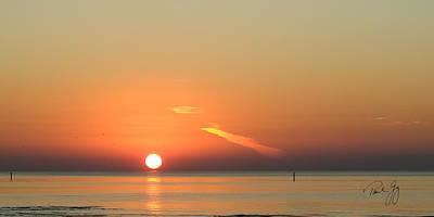 Sunrise Gulfport Mississippi Art Print