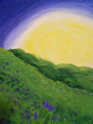 Target Threshold Watercolor - Sunrise by Heather Burbridge