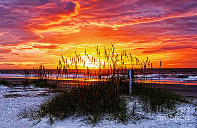 Photograph - Sunrise Hilton Head Beach by Paul Mashburn