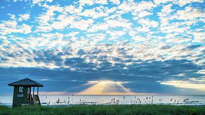 Sunrise Hope Delray Beach Florida Art Print