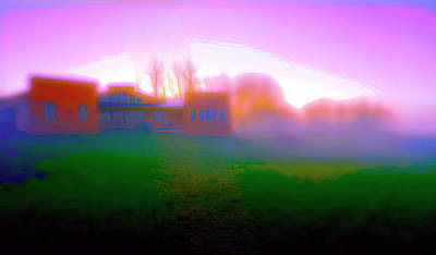 Photograph - Sunrise House by Jan W Faul