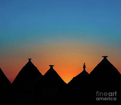 Photograph - Sunrise In Alberobello by Robin Zygelman