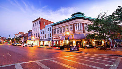Photograph - Sunrise In Annapolis by Walt Baker