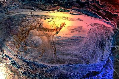 Fractal Other Worlds Digital Art - Sunrise In Another Place  by Mark Lopez