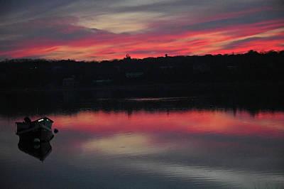 Photograph - Sunrise In Cape Cod by Rafael Figueroa
