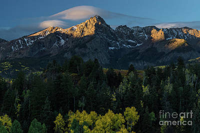 Sunrise In Colorado - 8689 Art Print