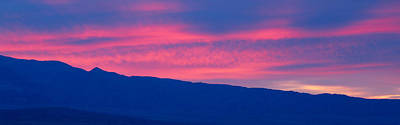 Sunrise In Death Valley National Park Print by Panoramic Images