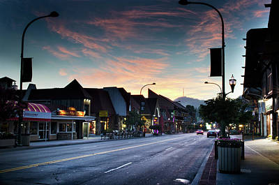 Photograph - Sunrise In Gatlinburg Tennessee by Greg Mimbs