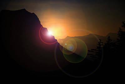 Photograph - Sunrise In Glacier by Roy Nierdieck