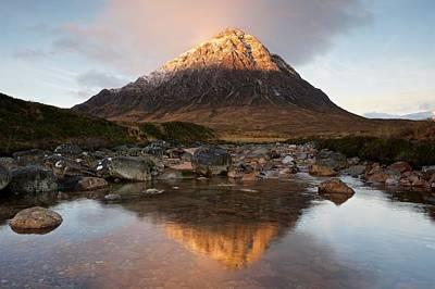Photograph - Sunrise In Glencoe by Stephen Taylor