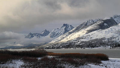 Photograph - Sunrise In Grand Teton National Park by Pierre Leclerc Photography