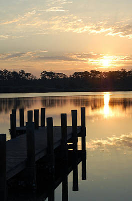 Sunrise In Grayton Beach II Art Print