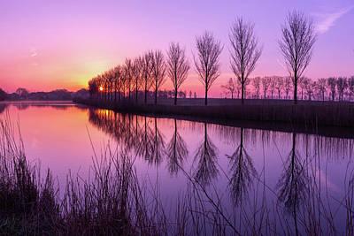 Photograph - Sunrise In Holland by Susan Leonard