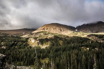Outdoor Graphic Tees - Sunrise in Indian Peaks Wilderness by James Sibert