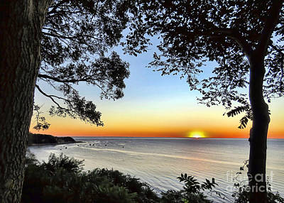 Photograph - Sunrise In Manomet Ma by Janice Drew
