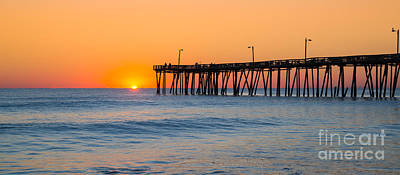 Surrealism Royalty Free Images - Sunrise in North Carolina Outer Banks Royalty-Free Image by Michael Ver Sprill