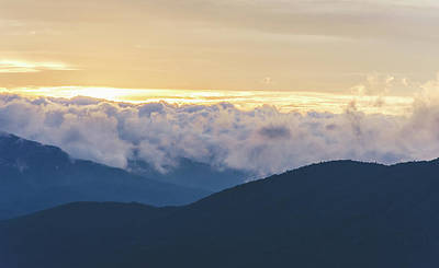 Photograph - Sunrise In North Georgia Mountains 2 by Andrea Anderegg