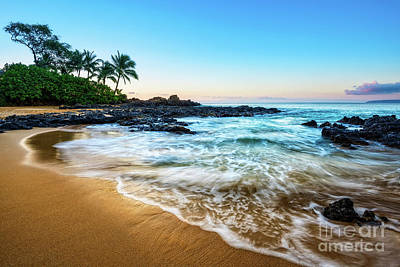 Sandy Cove Photograph - Sunrise In Paradise by Jamie Pham