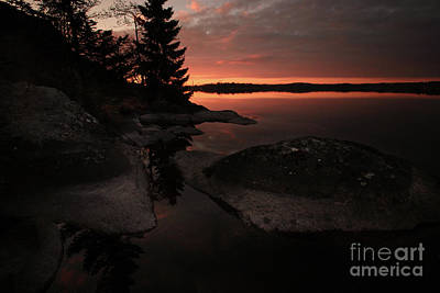 Photograph - Sunrise In Pyynikki by Tapio Koivula