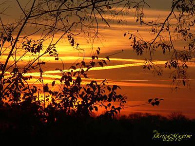 Sunrise In Tennessee Art Print by EricaMaxine  Price