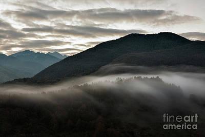 Sunrise In The Abruzzo National Park Art Print