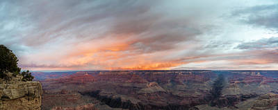 Design In Nature Photograph - Sunrise In The Canyon by Jon Glaser