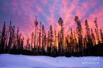 Royalty-Free and Rights-Managed Images - Sunrise in the Cascades by Twenty Two North Photography