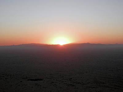 Photograph - Sunrise In The Desert by Pema Hou