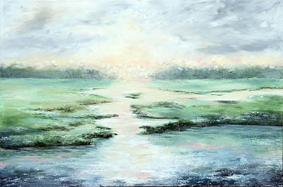 Painting - Low Country Gold  by Katrina Nixon
