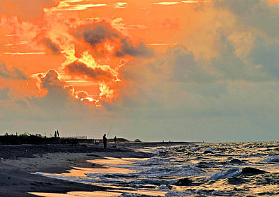 Photograph - Sunrise In The Gulf by Kristin Elmquist