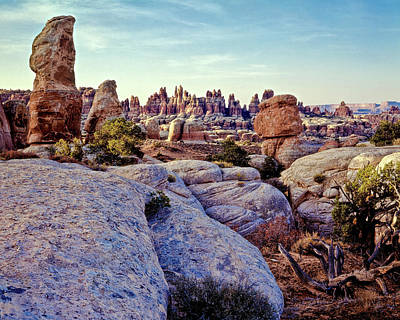 Photograph - Sunrise In The Land Of Standing Rocks by Gary Shepard