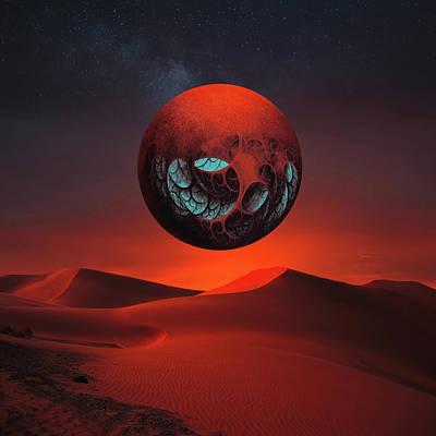 Sunrise In The Third System Art Print
