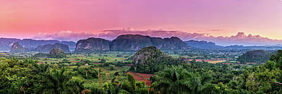 Photograph - Sunrise In Vinales Valley by Levin Rodriguez