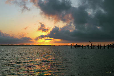 Photograph - Sunrise Indian River Lagoon Wide by Ken Figurski