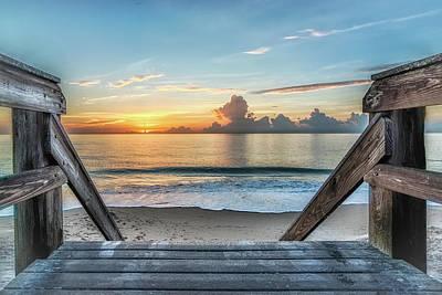 Photograph - Sunrise Jaycee by Bob Bernier