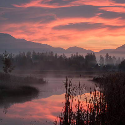 Photograph - Sunrise Lakes by Jack Bell