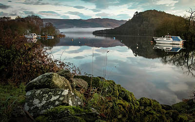 Photograph - Sunrise Loch Lomond by Alex Saunders