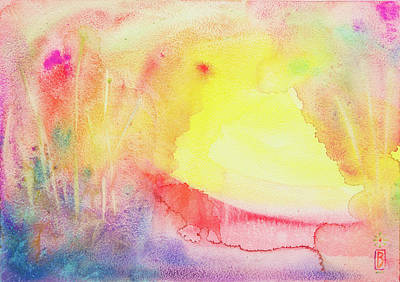 Painting - Sunrise by Lynn Bywaters