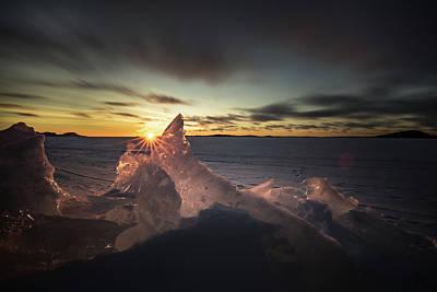 Winter Animals - Sunrise March 24 740 AM Sturgeon Bay by Jakub Sisak