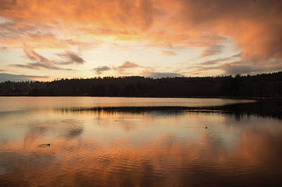 Photograph - Sunrise On The Water by Marilyn Wilson