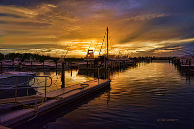 Photograph - Sunrise Marina by Don Durfee