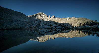 Photograph - Sunrise, Mono Creek by Martin Gollery
